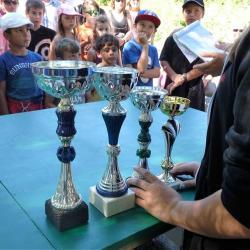 Trophées du concours de pêche enfants