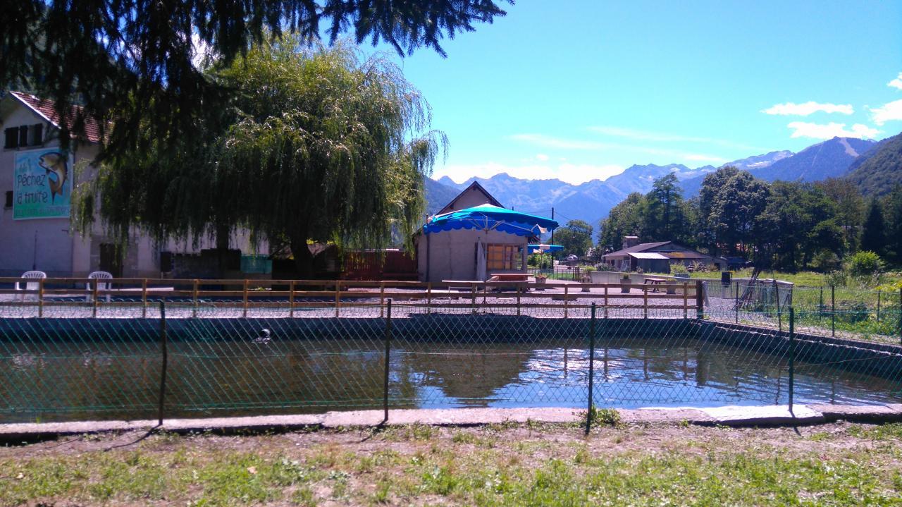 Vue du bassin de pêche